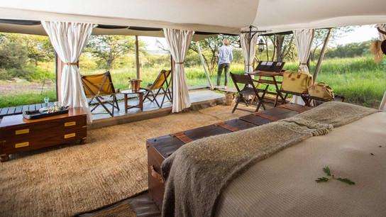 Serengeti Pioneer Camp Inside Room
