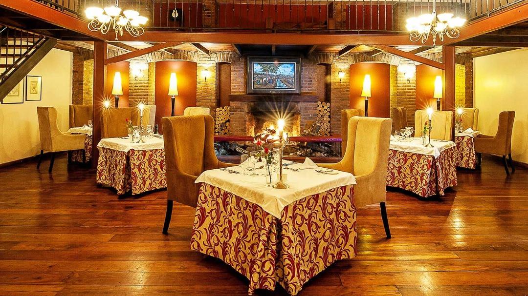 Arusha Coffee Lodge Dining Area