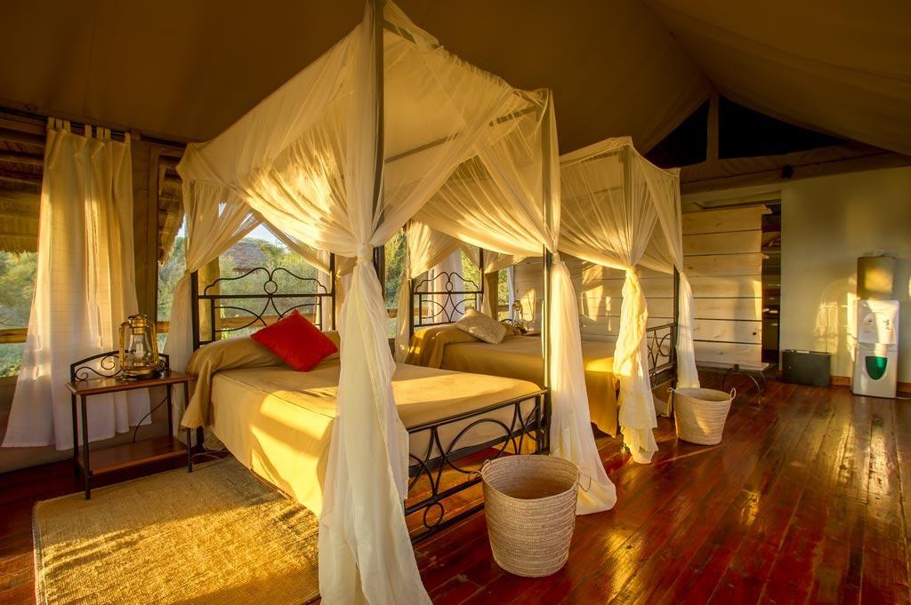 Burunge Tented Lodge Inside Room