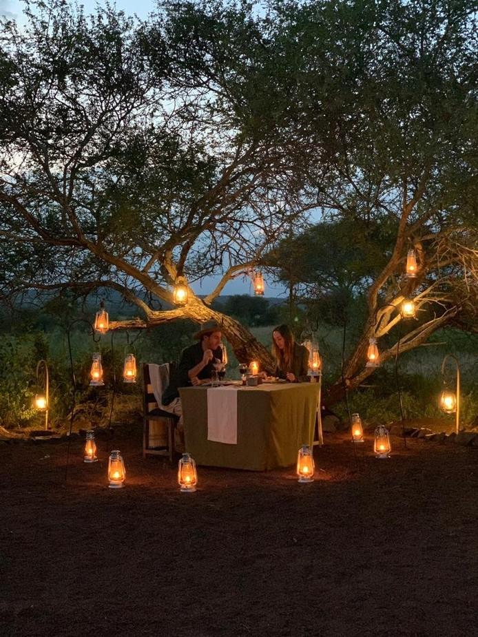 Tarangire Tortilis Camp Bush Dining