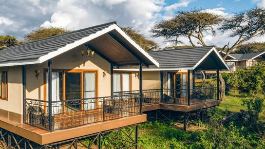 Ngorongoro Lion's Paw Camp Outisde Tent