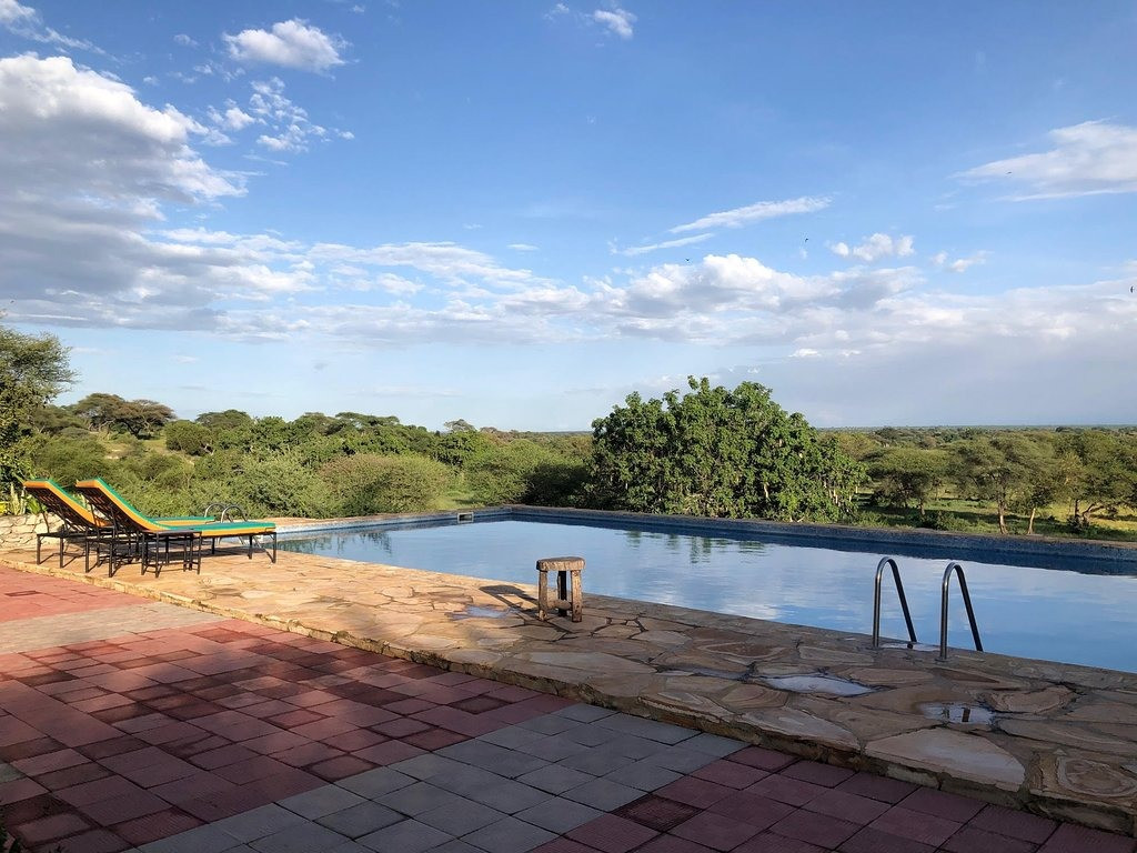 Tarangire Osupuko Lodge Swimming Pool