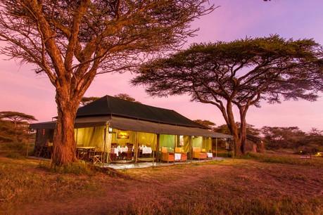 Heritage Mara Camp Main Area