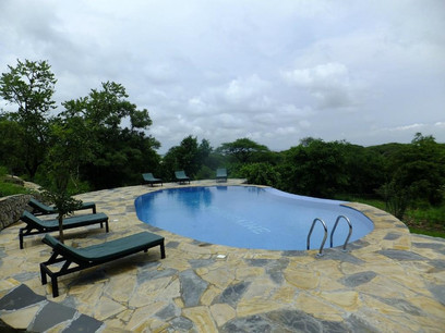 Sangaiwe Tented Lodge Swimming Pool