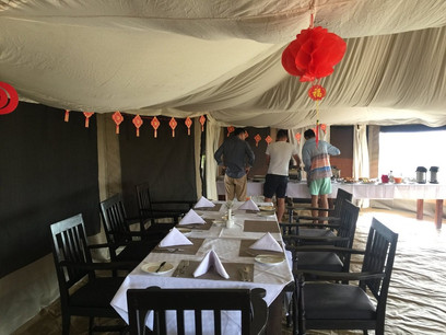 Acacia Tarangire Luxury Camp - Resturant and Dining Place