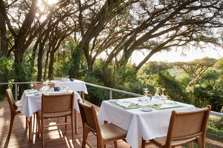 Sanctuary Ngorongoro Crater Camp - Dining with View