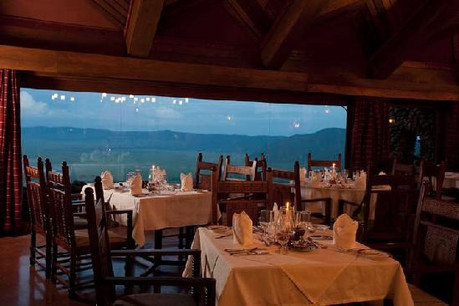 Ngorongoro Serena Safari Lodge Dining Area