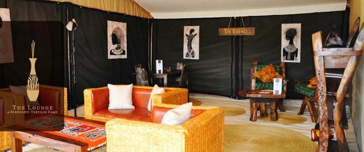 Serengeti Tortilis Camp Lounge