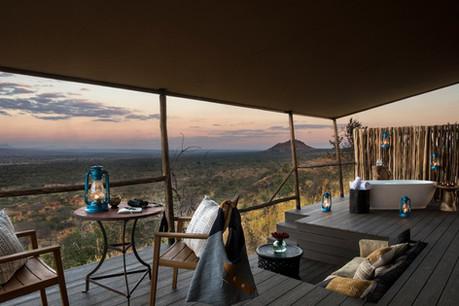 Lemala Mpingo Ridge Tent View