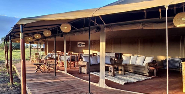 Zawadi Camp Lounge Area