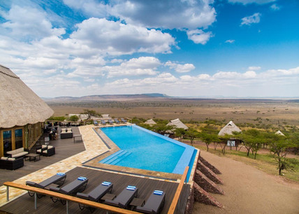 Lahia Tented Lodge Swimming Pool