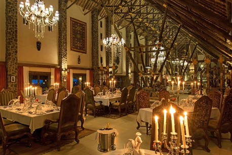 Lake Manyara Kilimamoja Lodge Dining
