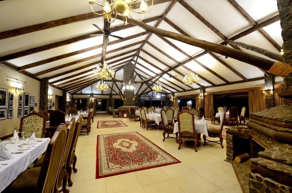 Ngorongoro Oldeani Mountain Lodge Dining