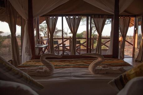 Tarangire Simba Lodge View from Room