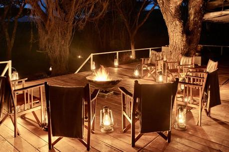 Sanctuary Ngorongoro Crater Camp - Fireplace