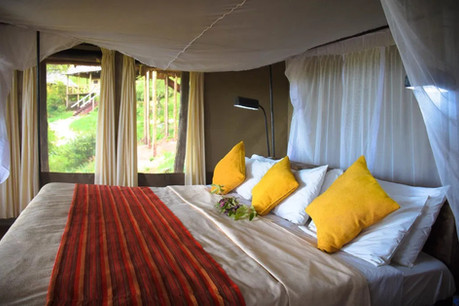 Sangaiwe Tented Lodge Double Room