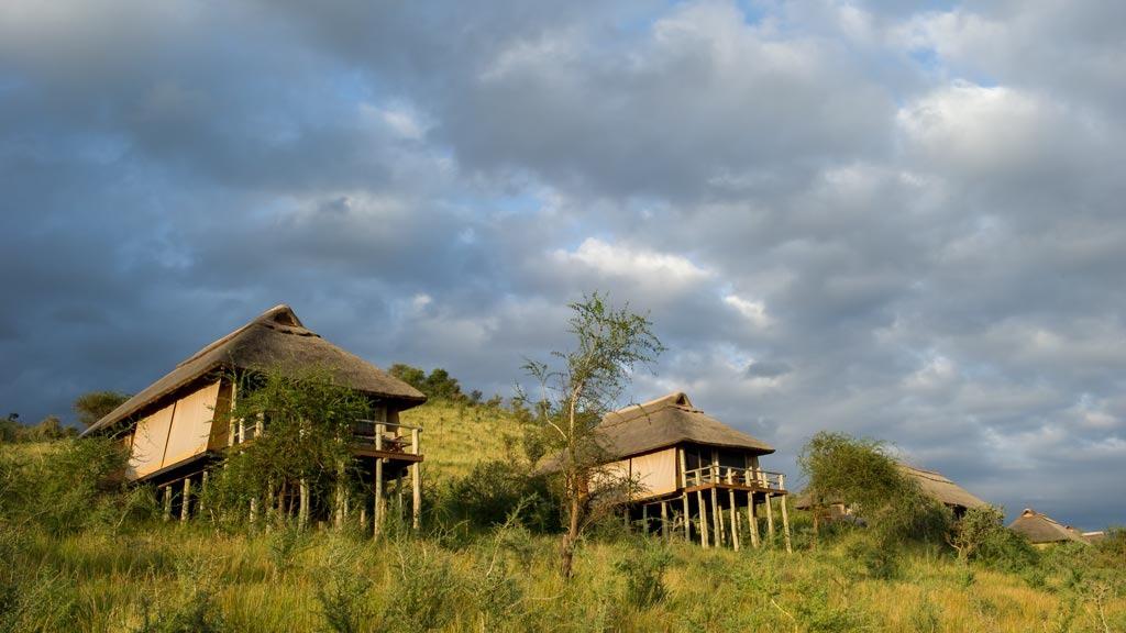 Kubu Kubu Tented Lodge Outside View