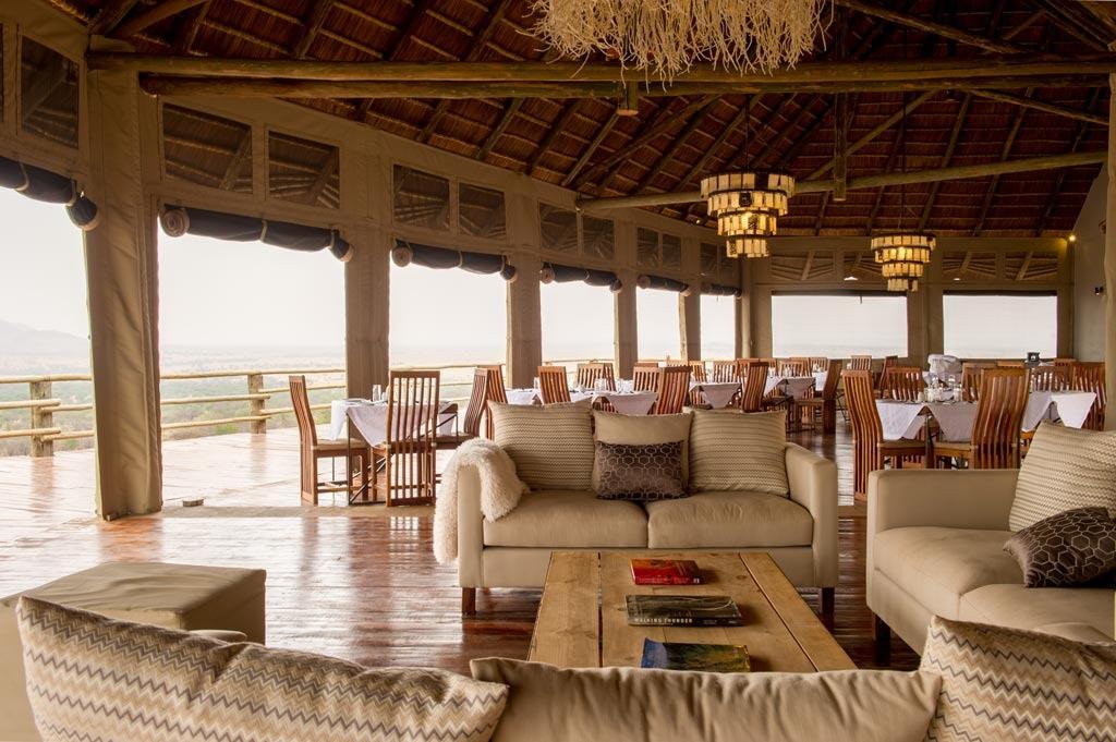 Kubu Kubu Tented Lodge Lounge Area