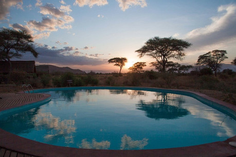 Tarangire Simba Lodge Swimming Pool