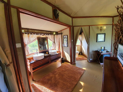 Tarangire Kuro Treetops Lodge Bathroom
