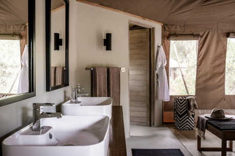 Sanctuary Swala Tarangire Camp - Bathroom