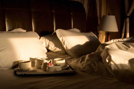 Ole Serai Luxury Camp - Turner Springs - Tent Inside