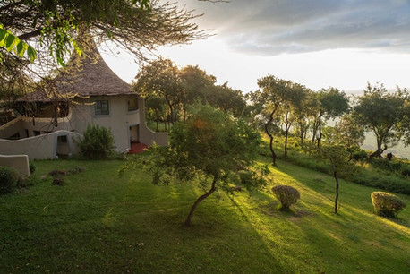 Lake Manyara Serena Safari Lodge Outside Room