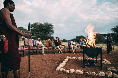 Tarangire Tortilis Camp Fireplace