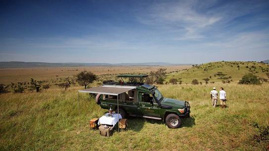 Serengeti Pioneer Camp Safari Drive