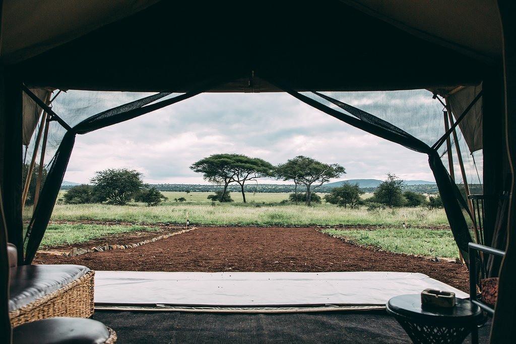 Tarangire Tortilis Camp View from Tent