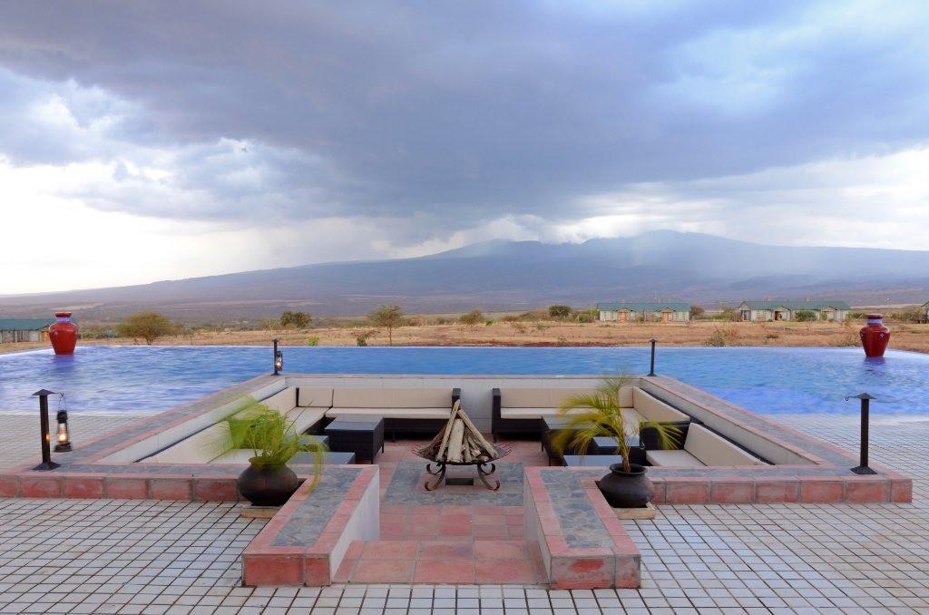 Ngorongoro Oldeani Mountain Lodge Pool