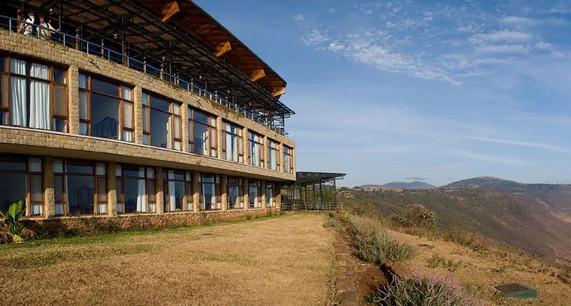 Ngorongoro Wildlife Lodge Exterior