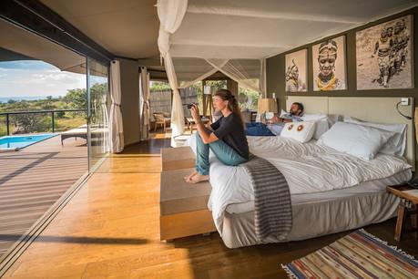 Lemala Kuria Hills Lodge Inside Room