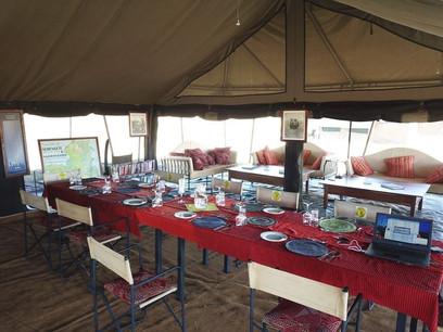 Kananga Special Tented Camp - Dining
