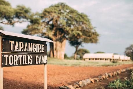 Tarangire Tortilis Camp Entrance