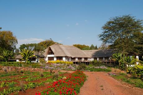 Farm House Valley Facade