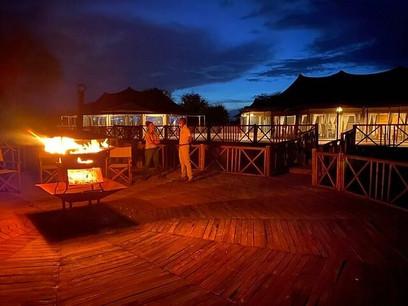 Acacia Tarangire Luxury Camp - Fire Place