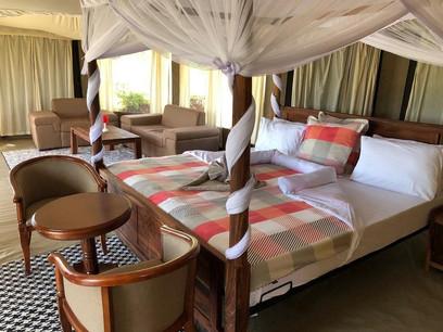 Acacia Tarangire Luxury Camp - Inside Tent