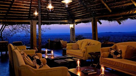 Serengeti Pioneer Camp Lounge
