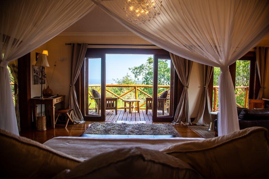 Escarpment Luxury Lodge Room View