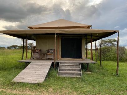 Mbugani Migration Camp Tent Outside
