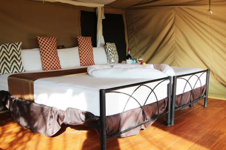 Kilima Valley Camp Inside Tent