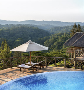 Neptune Ngorongoro Luxury Lodge Swimming Pool