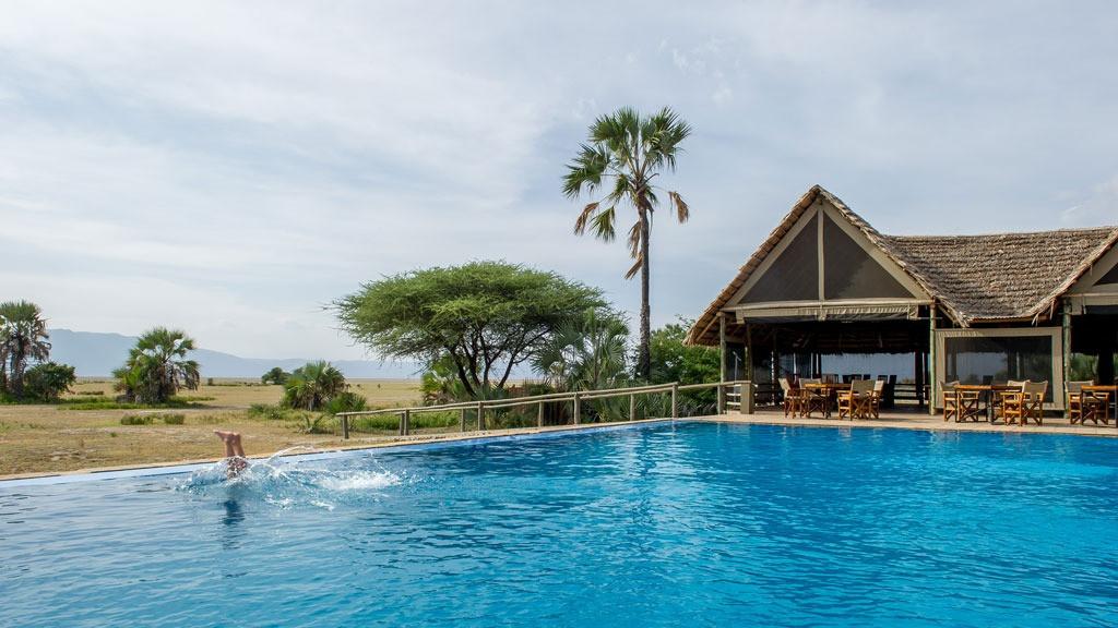 Maramboi Tented Lodge Swimming Pool