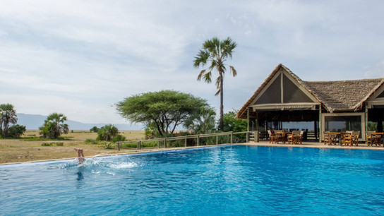 Maramboi Tented Lodge Swimming Pool