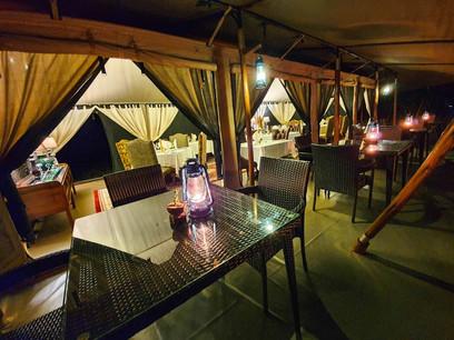 Tarangire Kuro Treetops Lodge Dining
