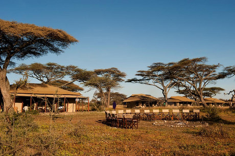 Mara Under Canvas Tented Camp Fireplace