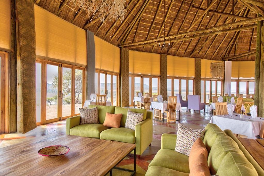 Lahia Tented Lodge Dining