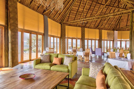 Lahia Tented Lodge Dining