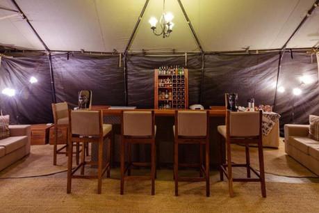 Serengeti River Camp Dining